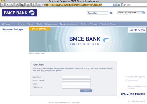 Phishing BMCE 2