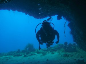 grotte fer à cheval baie du marin- DSC club de plongée