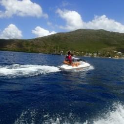 jet ski au rocher du Diamant- DSC club de plongée