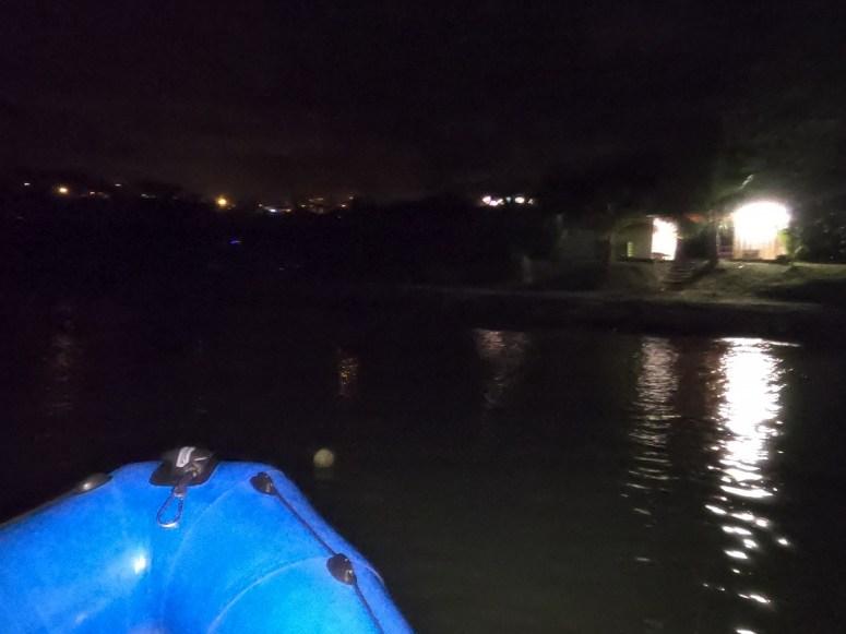 arrivée de nuit au club- DSC club de plongée du Diamant
