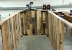 Assembling the cladding at PSU
