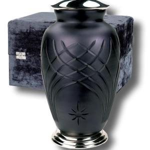 Beautifully hand-crafted Classica adult urn with elegant velvet case. - DSD Brands