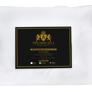 """Triumph Hill"" Down Bed Pillow Queen - DSD Brands"