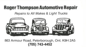 Roger Thompson Automotive Repair