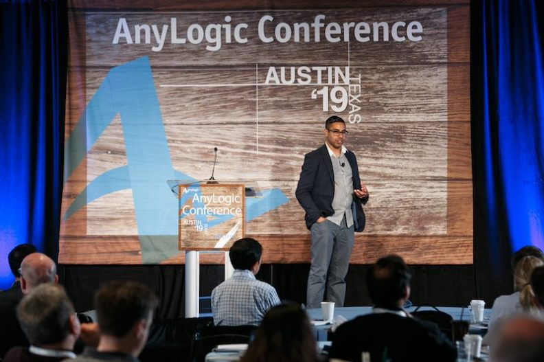 Aanand DSE Consulting AnyLogic conference