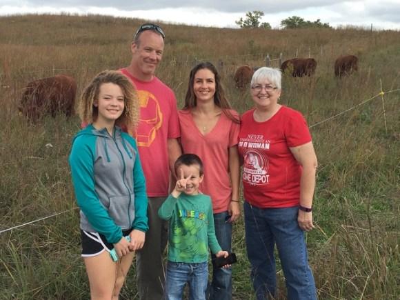 Halsted Family and Lynnette Schultz from Raymond, September 2016