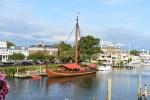 viking ship, lewes, delaware,ocean city, maryland