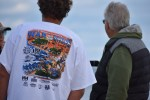 war on the shore t shirt, delaware, sussex coutny, delaware surf fishing