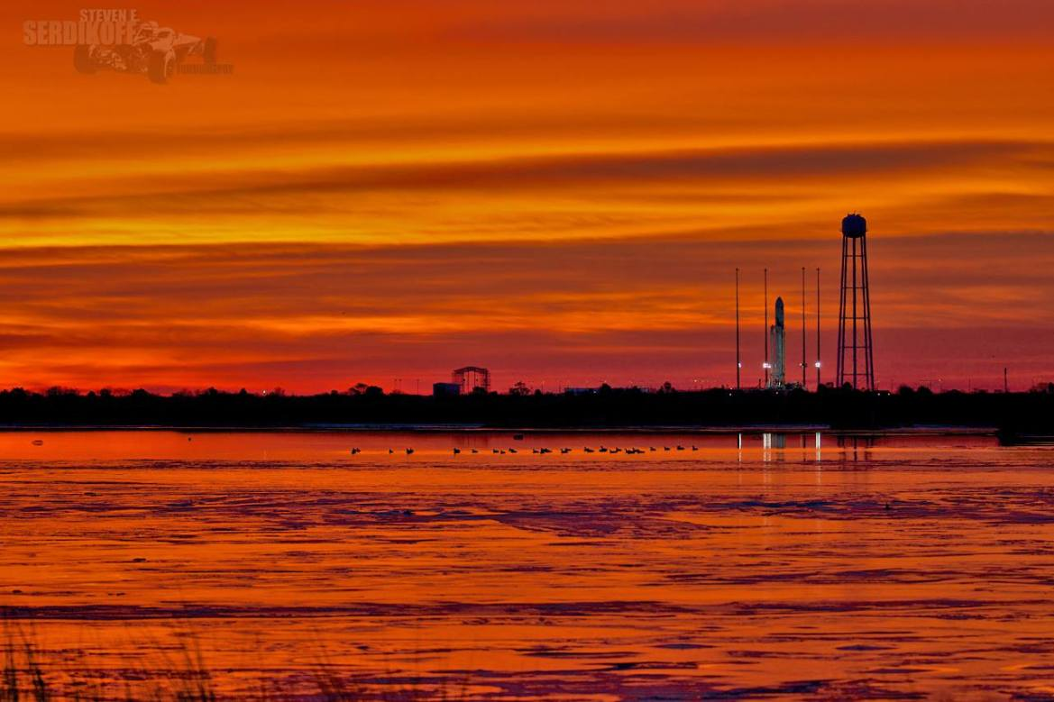 Northrop Grumman's Antares rocket, Mid-Atlantic Regional Spaceport at NASA's Wallops Flight Facility, rocket launch, delaware, sussex county