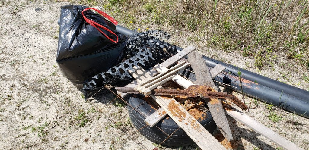 beach clean up, sussex county, delaware,