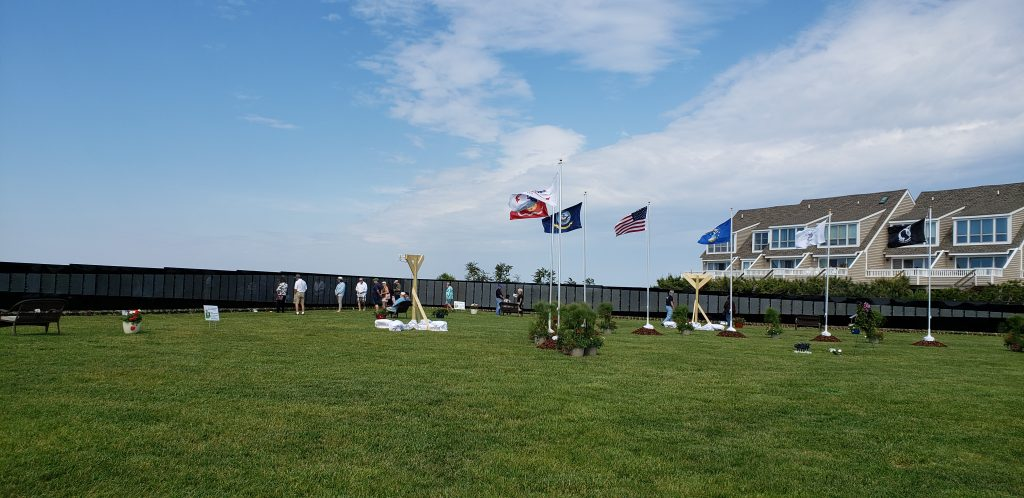 The moving wall, Vietnam veterans memorial wall, lewes, delaware, sussex county, american legion,