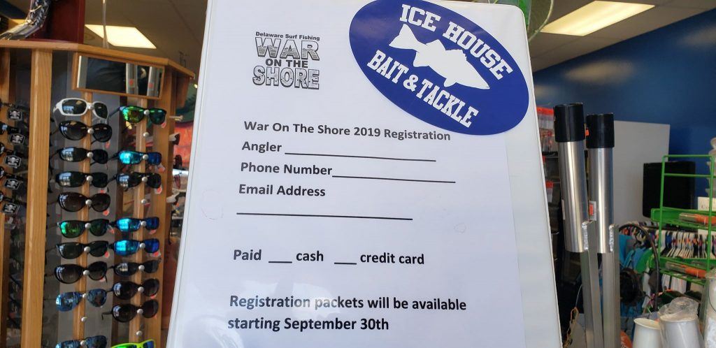 war on the shore, delaware, surf fishing tournament, sussex county, cape henlopen state park