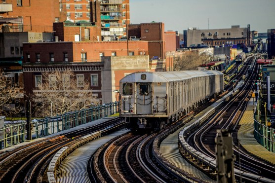 J Train Bypasses Hewes Street