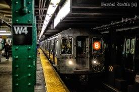 B Train Approaching West 4th Street