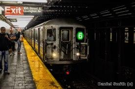 6 Train Approaching 103rd Street