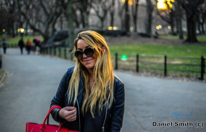 Female At Central Park
