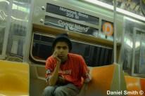 Daniel On The Westinghouse R68 (D) Train