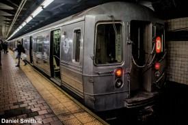 D Train At 125th Street