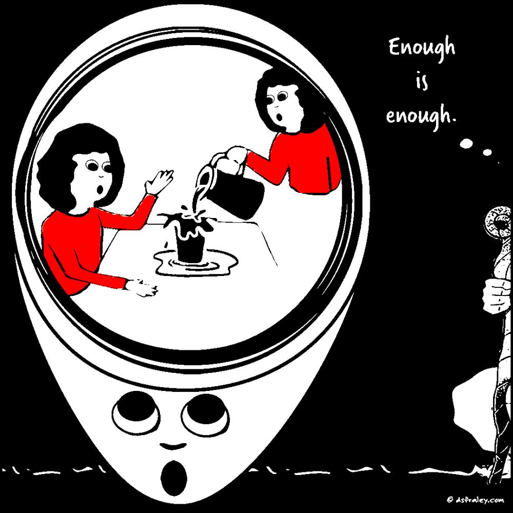 Enough is enough.