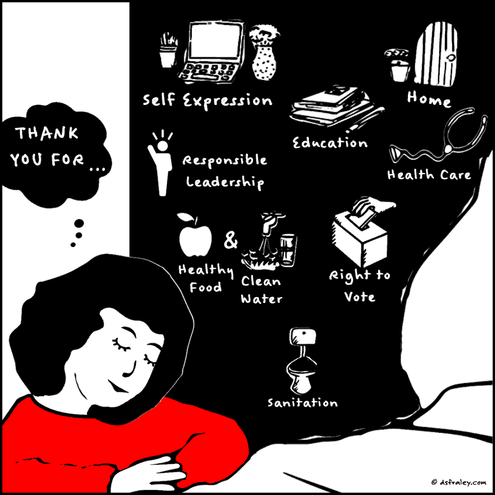 Fill Up With Gratitude