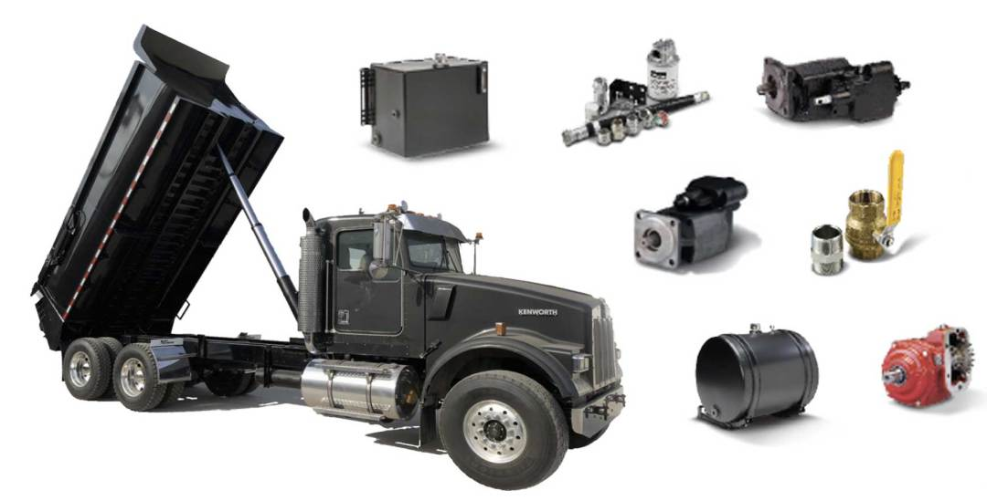Dump cylinders and wet line kits