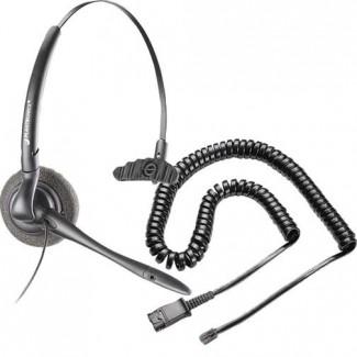 Plantronics H141N DuoSet Noise-Canceling Headset with RJ9