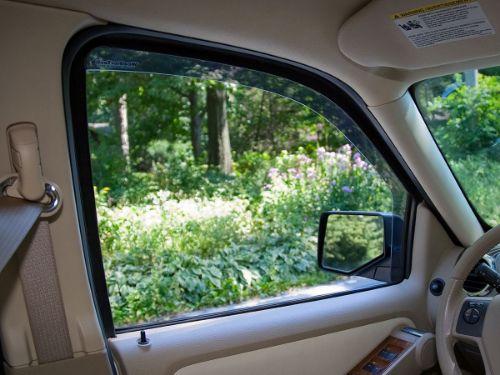 weathertech side window deflector wind noise