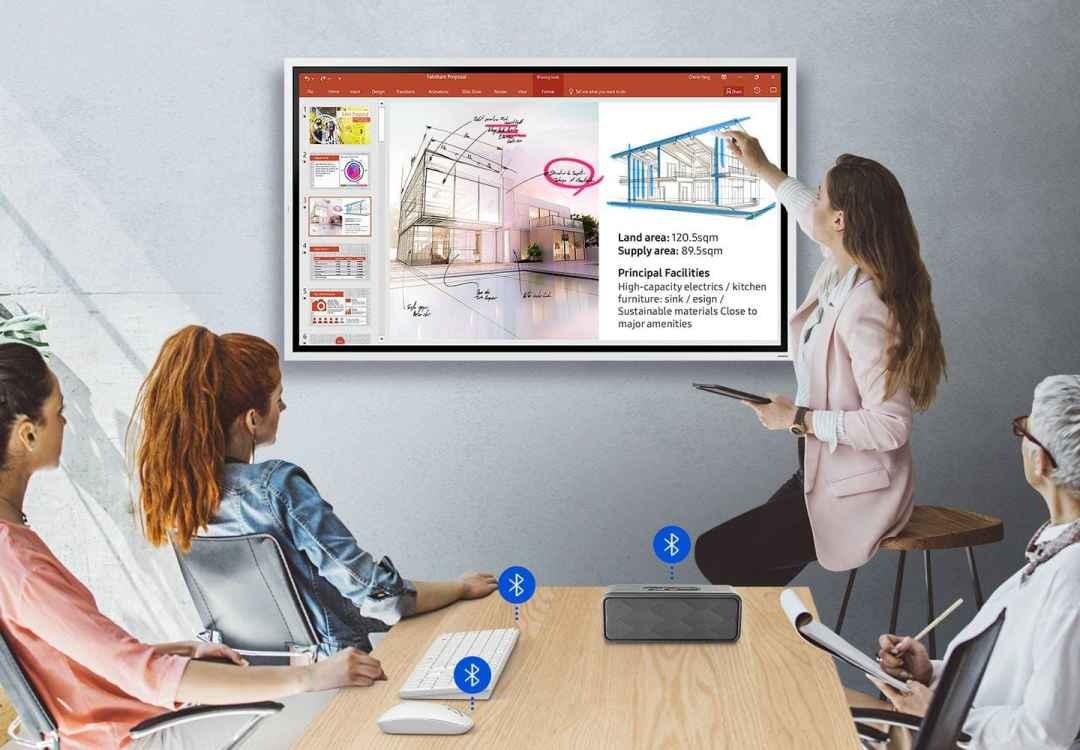 จอทัชสกรีนสำหรับห้องเรียน จอระบบสัมผัส Samsung Flip