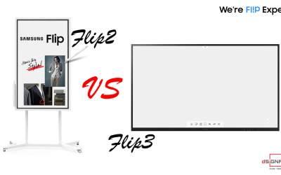Samsung Flip 3 ต่างจาก Samsung Flip 2 อย่างไร?