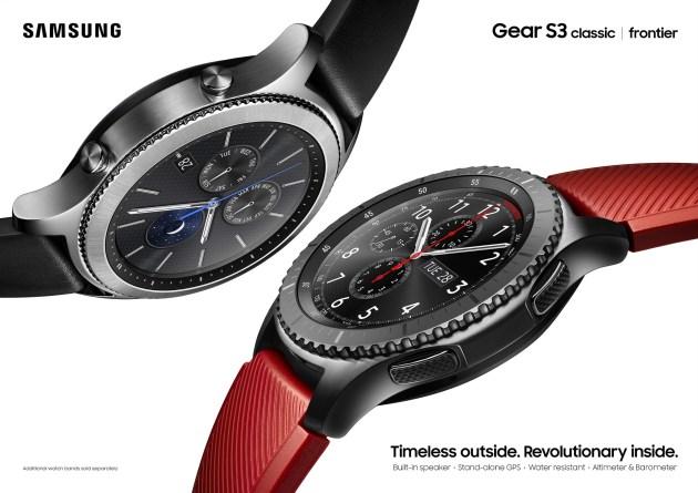 Gear S3 Key Visual