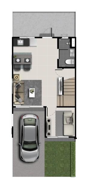 2562-6-23 Floor Plan - PN Bangyai2 - 16.4wa - 1F(M)
