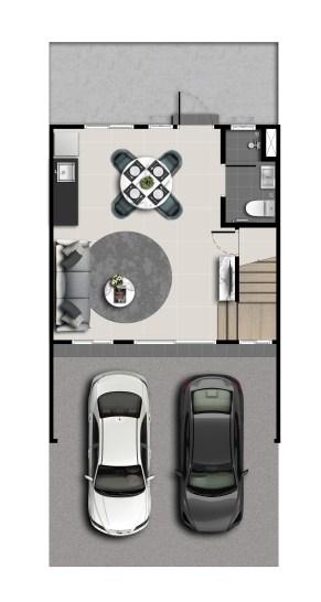 Mira - Floor Plan - 17_5wa - 1F(M)