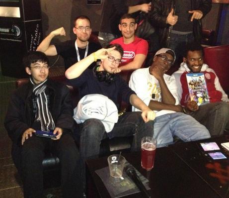 Nos 4 finalistes du Dual Fight #3 : Okima, Paoz, Davy, et notre grand vainqueur, Manko, qui gagne SSB for Wii U !