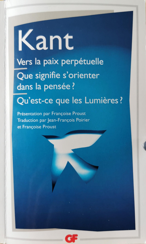 """Kant Qu'est-ce Que Les Lumières : qu'est-ce, lumières, Fiche, Lecture, Kant,, Qu'est-ce, Lumières, """"Ose, Penser"""", Directeur-des-Soins.com"""
