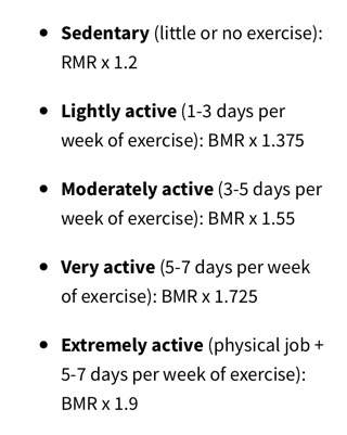 Lightly Active : lightly, active, Anyone, Activity, Level, Calculation?, Trying, Sedentary, Circuits, Minutes