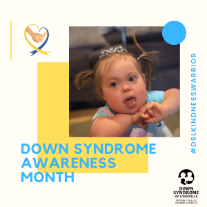 Down Syndrome Awareness Month Spotlights: Ellie Tant