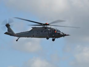 gray air force helicopter