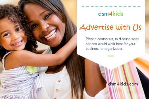 Advertise With Us - dsm4kids.com