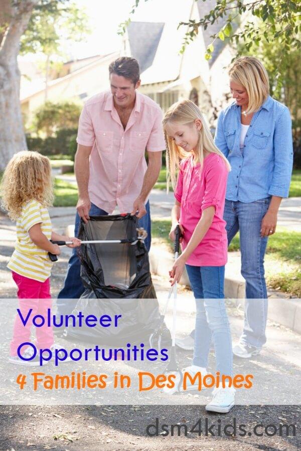 Volunteer Opportunities 4 Families in Des Moines - dsm4kids.com
