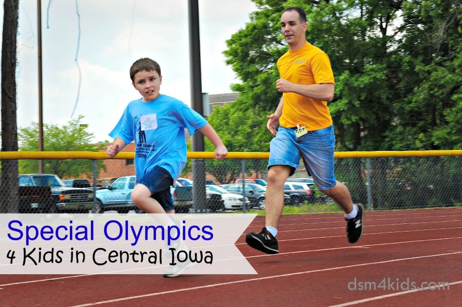 Special Olympics 4 Kids in Central Iowa