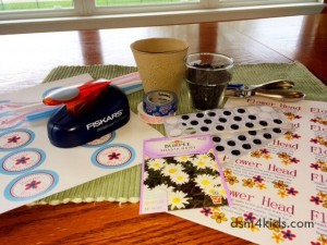 Two May Day Baskets with Real Flower Power – dsm4kids.com