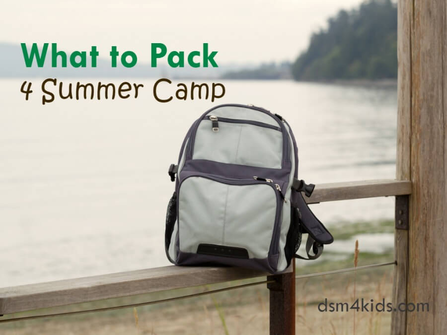 What to Pack 4 Summer Camp
