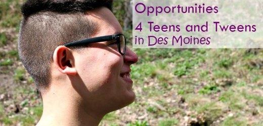 Summer Volunteer Opportunities for Teens and Tweens in Des Moines