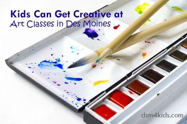 Kids Can Get Creative at Art Classes in Des Moines - dsm4kids.com