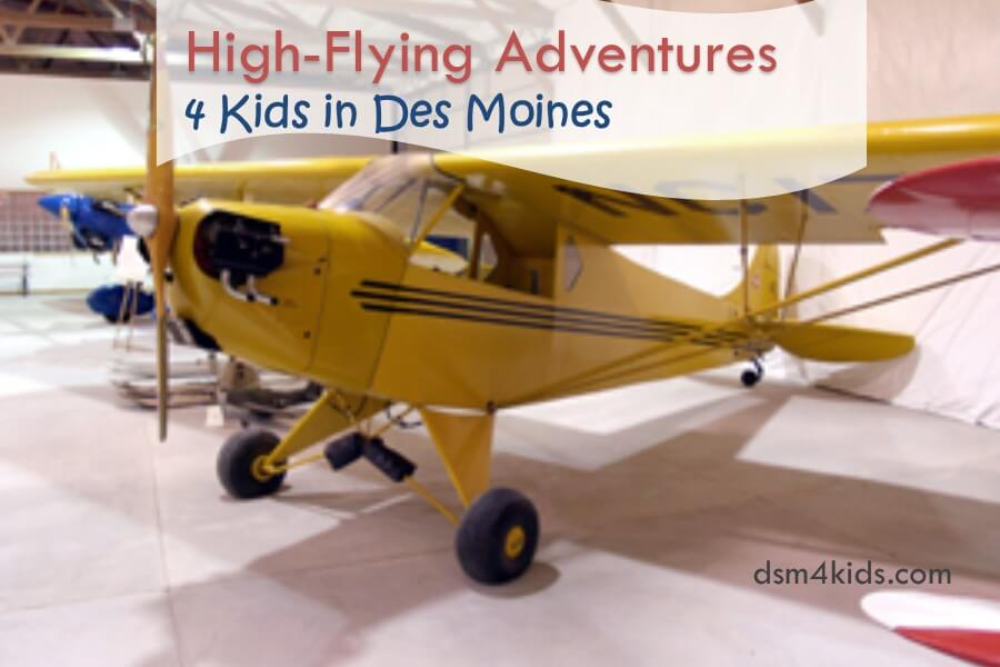 High-Flying Adventures 4 Kids in Des Moines