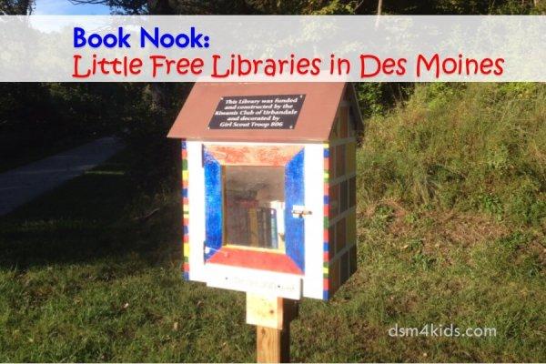 Book Nook: Little Free Libraries in Des Moines - dsm4kids.com