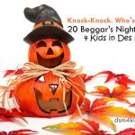 Knock-Knock. Who's there? 20 Beggar's Night Jokes 4 Kids in Des Moines - dsm4kids.com