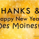 Thanks & Happy New Year Des Moines! - dsm4kids.com
