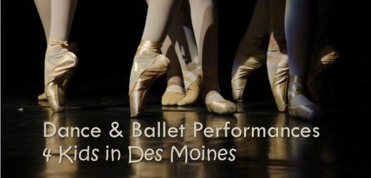 Dance & Ballet Performances 4 Kids in Des Moines