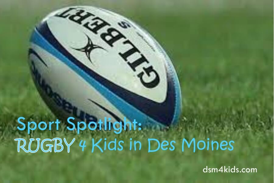 Sport Spotlight: Rugby 4 Kids in Des Moines
